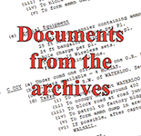 Archive documents button