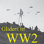 Operation Ladbroke gliders in WW2 button