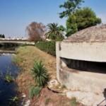 Pillbox by Ponte Grande bridge, Syracuse, Sicily - Operation Ladbroke