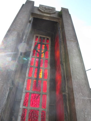 Memorial in Blegny, near Liege