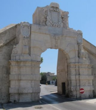 Gate into the citadel of Augusta in Sicily (C) Aurora Publishing