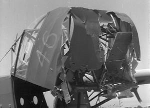 Nose of Waco glider 46 in Operation Ladbroke - Operation-Ladbroke_com