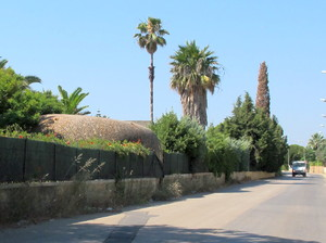 Pillbox at S end of Strongpoint Masseria Palma - Operation-Ladbroke_com