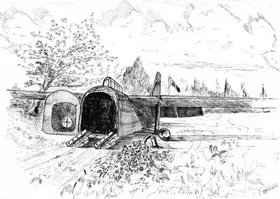 Hamilcar 317, Wolfheze, Arnhem © V Miller