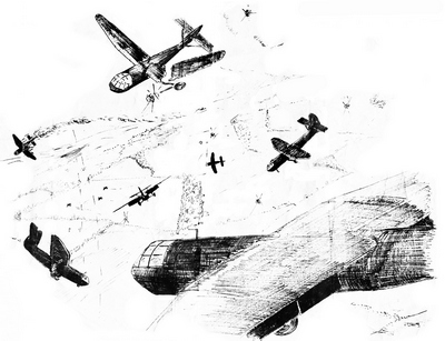 Horsa reinforcements 1, Arnhem © V Miller